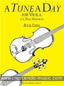 A Tune a Day for Viola - Vol.3. Herfurth, Paul