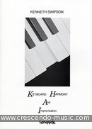 Keyboard harmony and improvisation. Simpson, Kenneth