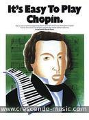 It's easy to play Chopin. Chopin, Frédéric