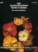 View a sample page! The older beginner piano course - Lev.2 - Bastien, James