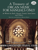 A Treasury of Organ Music for Manuals Only. Album
