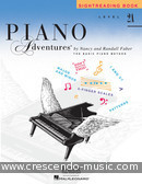 Piano Adventures: Sightreading Book - Level 2A. Faber, Nancy; Faber, Randall
