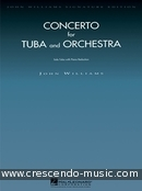 Concerto for Tuba and Orchestra (Piano reduction). Williams, John