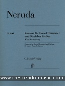 Concerto for Horn E flat major (Piano reduction). Neruda, Johann Baptist Georg