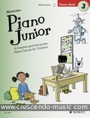 Piano Junior Theory Book - 3. Heumann, Hans Günter