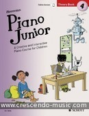 Piano Junior Theory Book - 4. Heumann, Hans Günter