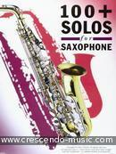100+ Solos for saxophone. Album