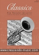 Classics for Trumpet Quartet - 3th Trumpet. Album