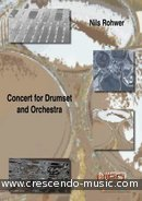 Concert for Drumset and Orchestra. Rohwer, Nils