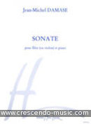 Sonate. Damase, Jean-Michel