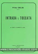 View a sample page! Intrada e toccata - Celis, Frits