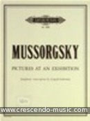 Pictures at an Exhibition (Partitur). Mussorgsky, Modest