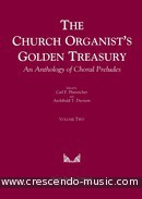 The church organist's golden treasury 2. Album