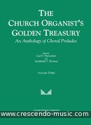 The church organist's golden treasury -. Album
