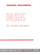 Dialogues. Rochberg, George