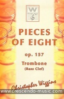 Pieces of Eight, Op.157 (Bass clef). Wiggins, Christopher