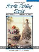 Favorite Wedding Classics (Piano accompaniment). Album