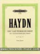 The Seven Last Words, Op.51 nos.1-7. Haydn, Joseph