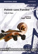 View a sample page! Poeme sans paroles - Tourne, Jozef