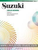Suzuki Cello school - 4 (Piano accomp.). Suzuki, Shinichi