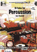 10 Solo's for percussion. Bomhof, Gert