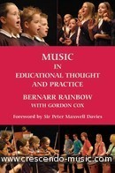 Music in educational thought & practice. Rainbow, Bernarr