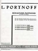 Russian fantasia no.4. Portnoff, L.