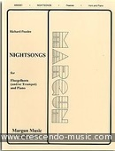 Nightsongs. Peaslee, Richard