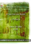 View a sample page! Amor, io fallo - Van der Roost, Jan