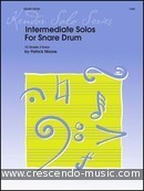 Intermediate Solos For Snare Drum. Moore, Patrick