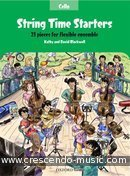 Voir le contenu! String Time Starters (Cello) - Blackwell, Kathy and David