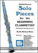 Solo Pieces for the Beginning Clarinetist. Album