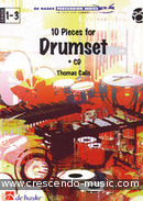 10 Pieces for drumset. Calis, Thomas