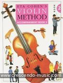 Violin Method - Vol.2 (Piano accompaniment/Violin duet). Cohen, Eta