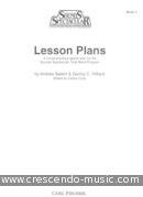 Lesson plans - Book 2. Balent, Andrew