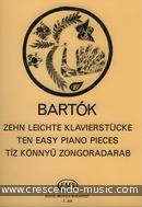 10 Easy piano pieces (EMB). Bartok, Bela