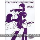 Violin Method – Vol.4 (Violin part & piano accompaniment). Cohen, Eta