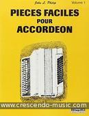 Pieces faciles pour accordeon - 1. Album