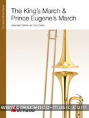 The king's march & prince Eugene's march. Clarke, Jeremiah