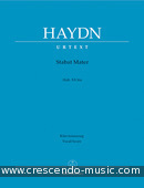 View a sample page! Stabat Mater (Klavierauszug) - Haydn, Jozef