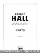 Suite for 5 Winds (Parts only). Hall, Pauline