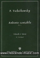 Andante cantabile, Op.11 (FORBERG). Tchaikovsky, Peter