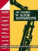 H is for hottentotte. Odgren, Jim