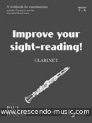 Improve your sight-reading (Clarinet) - Grade 7-8. Harris, Paul