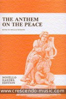 Anthem on the peace (Vocal score). Haendel, Georg Friedrich