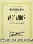 Suite folklore. Andes, Marc