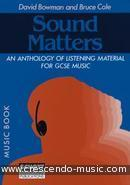 Sound matters (Music book). Bowman-Cole
