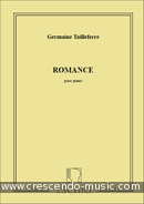 Romance. Tailleferre, Germaine