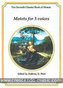 The Chester Book of Motets - Vol.7 (Motets For 3 Voices). Album