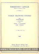 20 Grands Etudes - Vol.2. Capelle